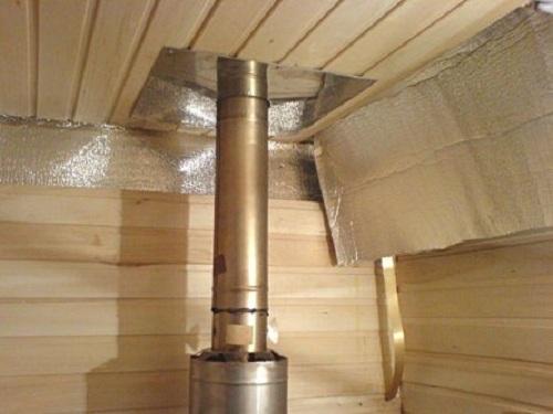 Правильное устройство дымохода в бане для дровяной печи 1