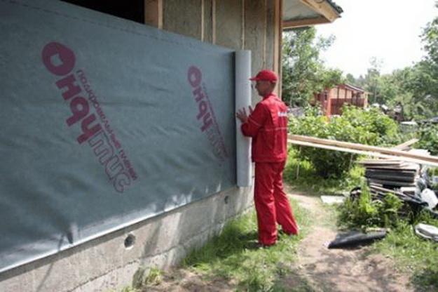 Ветрозащита для стен каркасного дома 2