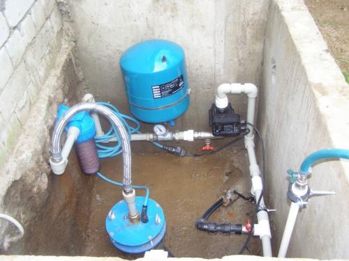Водопровод в частном доме своими руками от скважины 1