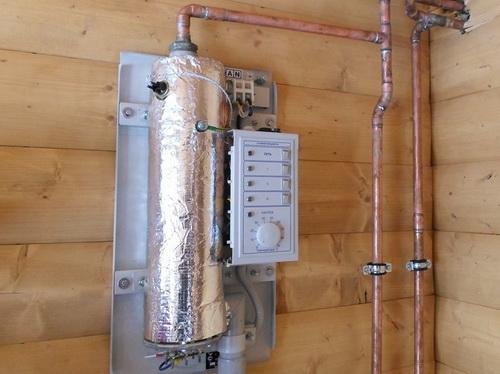 Отопление бани 2
