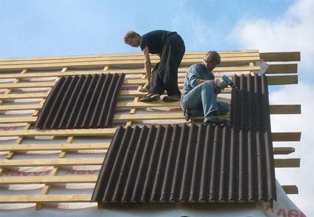 Чем недорого покрыть крышу на даче 3