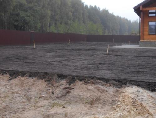 Как поднять участок с высоким уровнем грунтовых вод (УГВ) 1