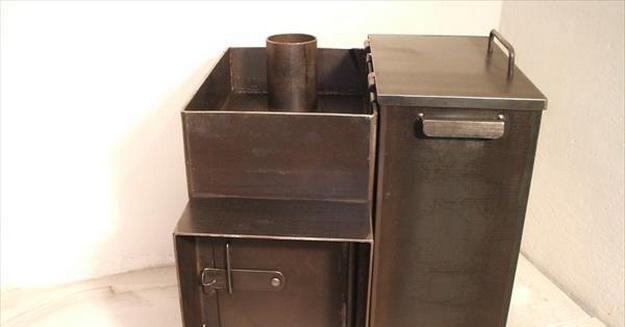 Как правильно топить баню с металлической печью в парилке 2