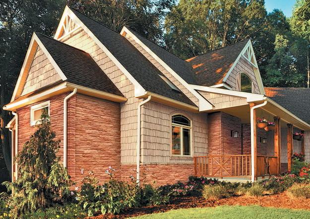 Чем можно обшить дом снаружи дешево и красиво - фото 6